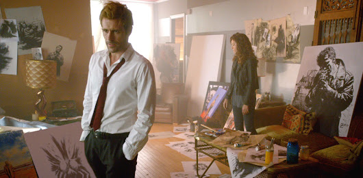 "Constantine 1.02 ""The Darkness Beneath"" - Psycho Drive-In"
