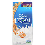 Rice Dream Original Rice Drink - Enriched Vanilla - 32 Fl Ounce - PACK OF 24