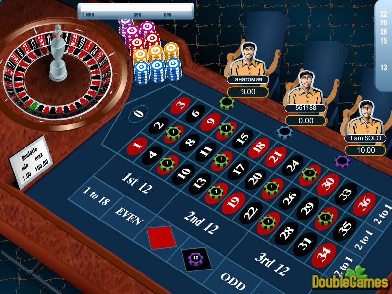 казино онлайн бесплатно играть рулетку