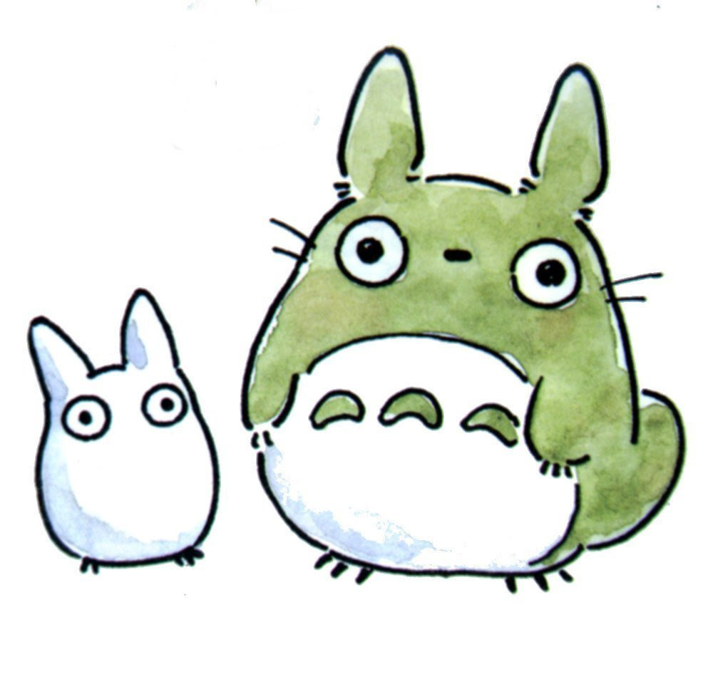 Free Totoro Cliparts Download Free Clip Art Free Clip Art On