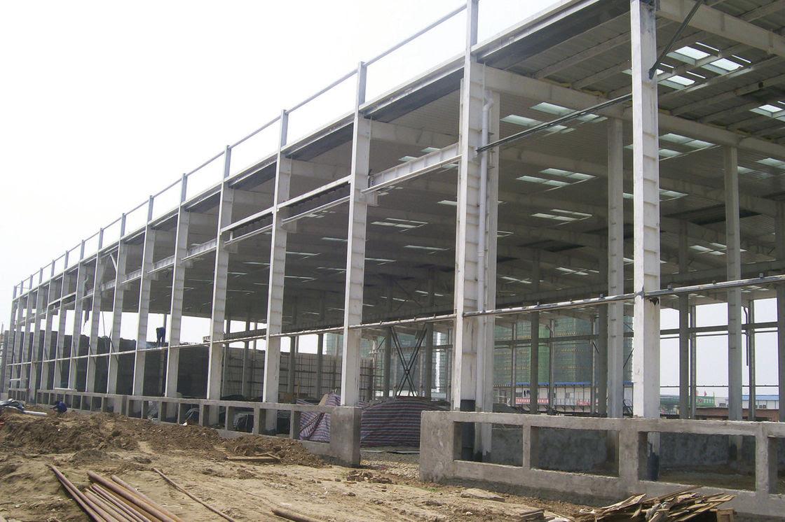 Pra Rekayasa Industri Baja Gudang Dengan Metail Dinding Dan Roof Fabrikasi