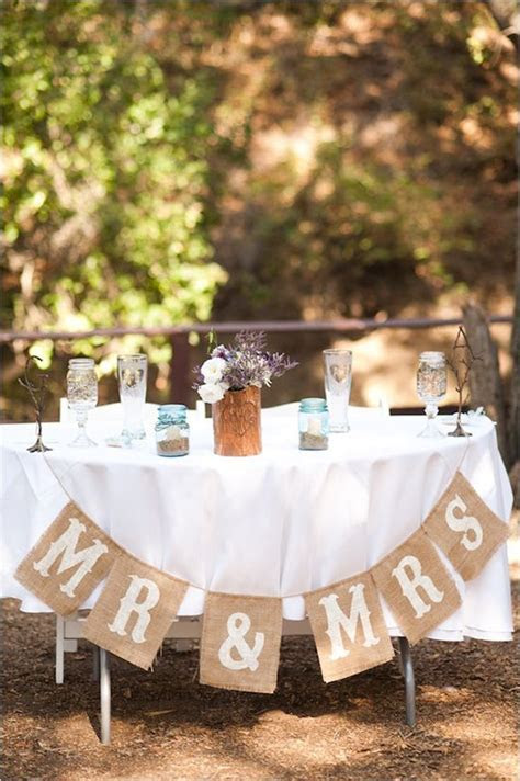 Handmade Rustic Purple And Gray Wedding   Decor & Details