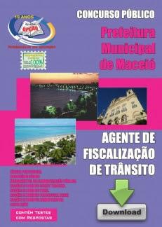 Maceió/AL-AGENTE DE FISCALIZAÇÃO DE TRâNSITO