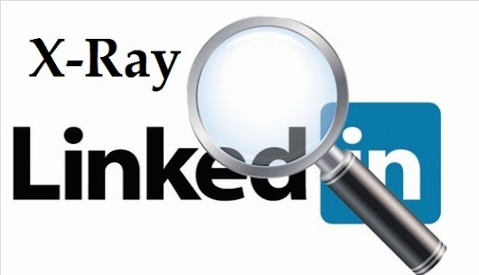 Did You Notice? New Way to X-Ray LinkedIn