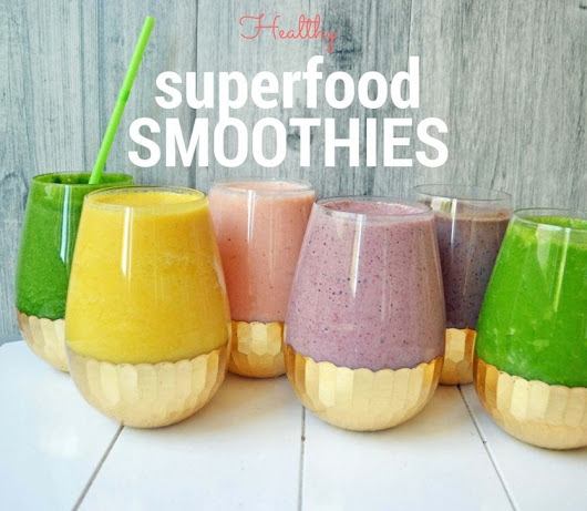 6 Healthy Superfood Smoothies – Modern Honey