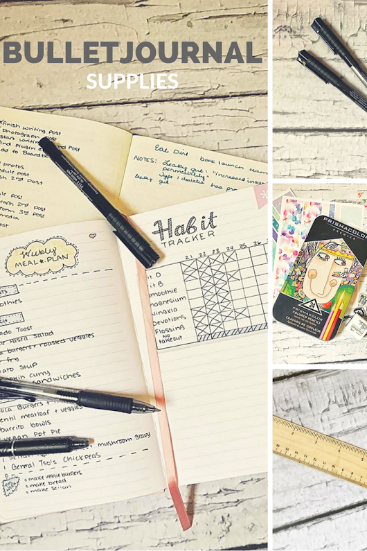 Bullet Journal Supplies for Beginners - The House of Plaidfuzz
