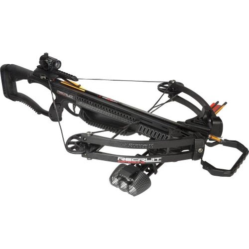 Barnett Recruit Compound Crossbow Package, Black - outdoorsNsports