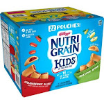 Kelloggs KEB23694 Nutri-Grain Kids Variety - Pack of 22