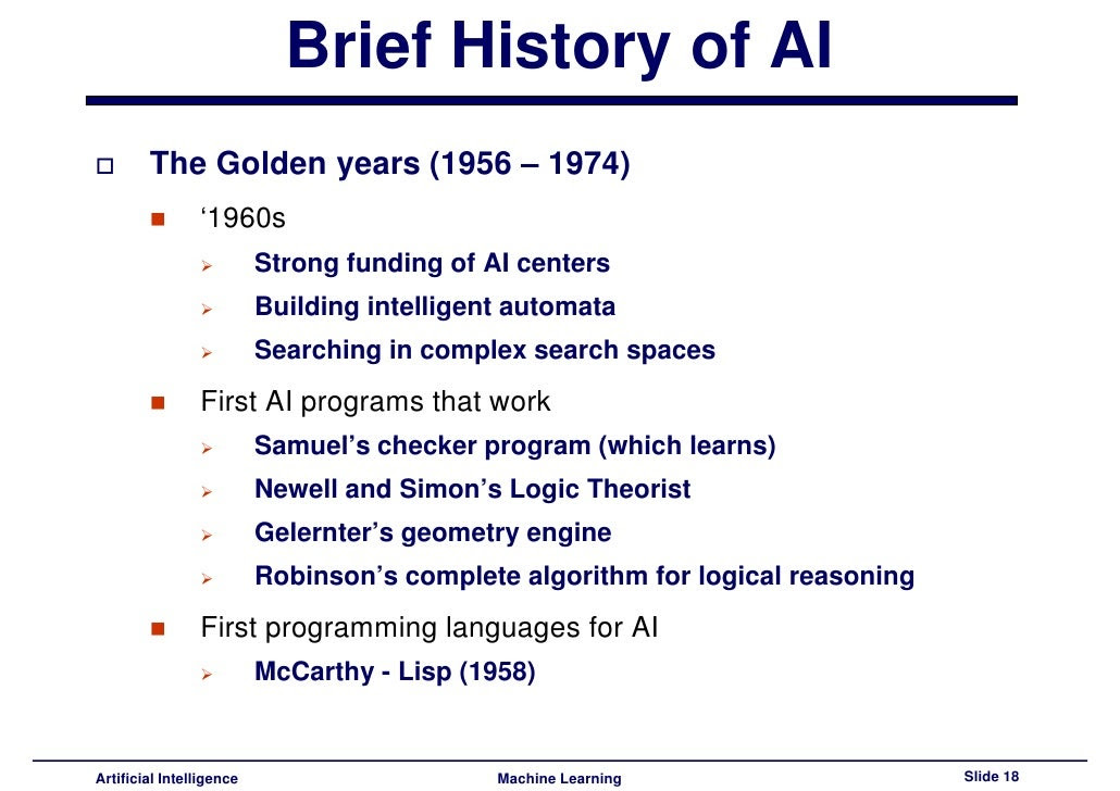 lecture1 ai1 introduction to artificial intelligence 18 728