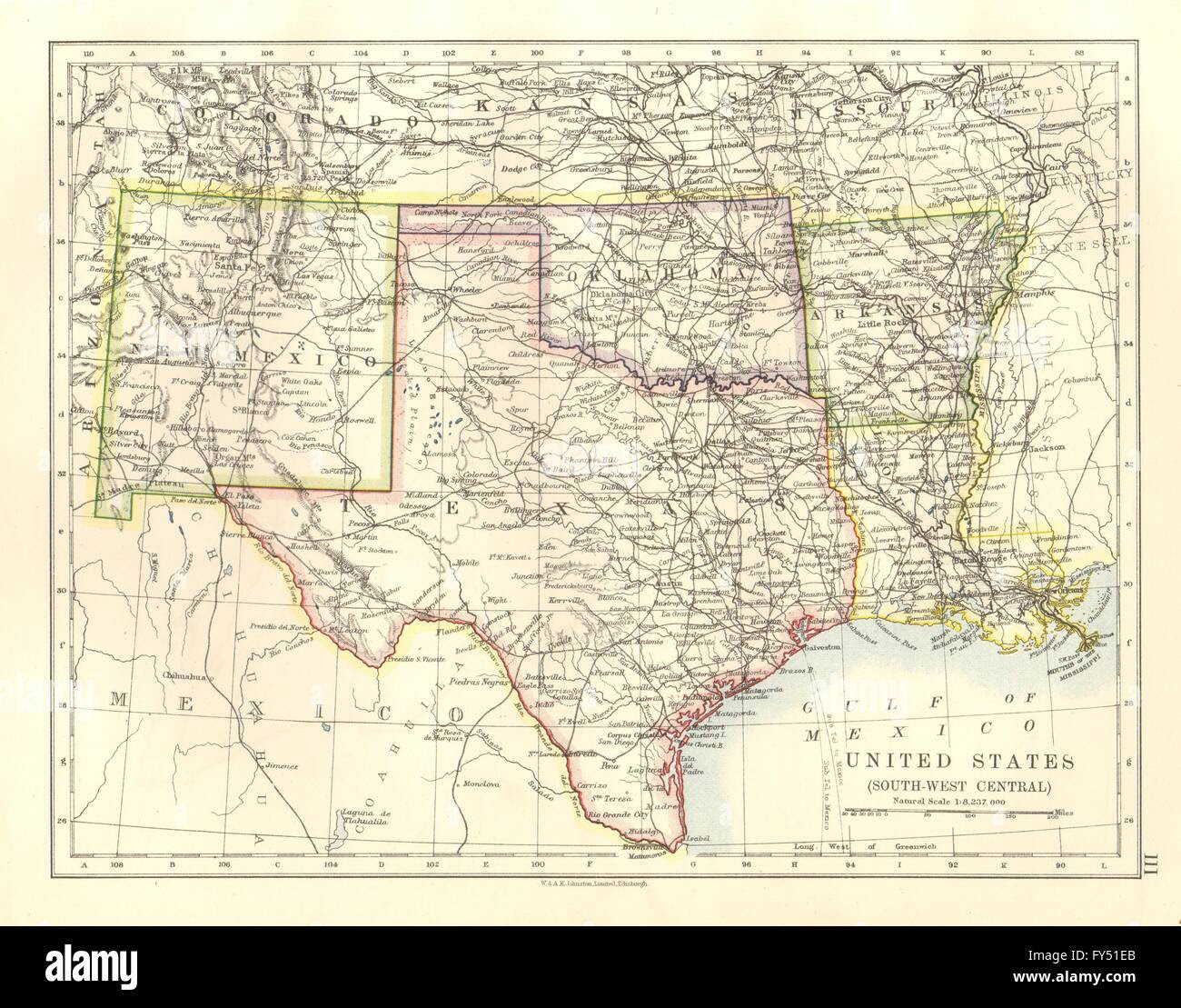 Map Of Texas And New Mexico Business Ideas 2013