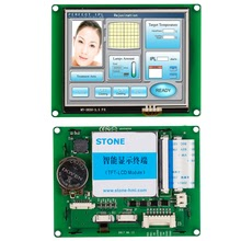 stone hmi tft capacitive lcd module with serial interface and cpu