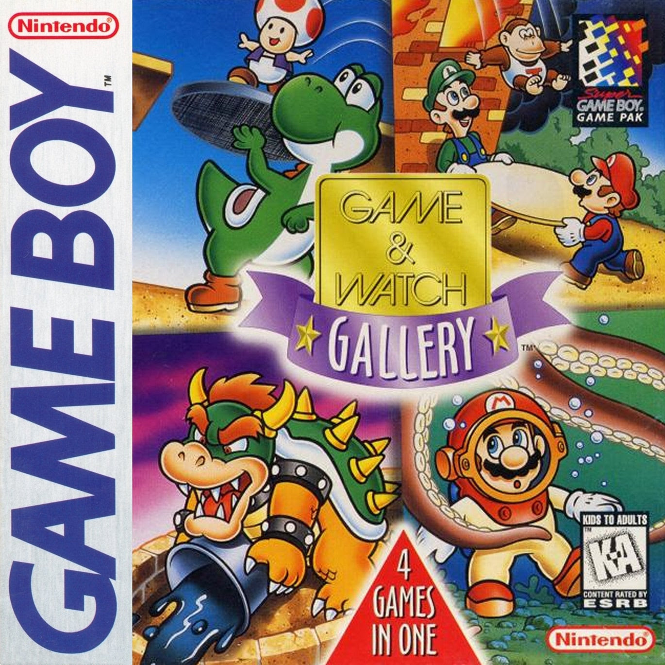 Game /u0026 watch gallery 2 game boy color silver slipper casino rv park bay st louis ms