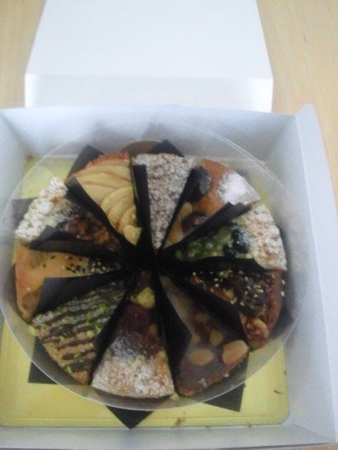 2.8, I bought ten different kinds of tart cake.