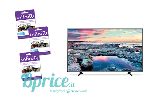 Concorso Carrefour - vinci card Infinity e una Smart Tv - Bprice.it