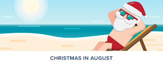 Christmas in August | Holiday Email Marketing Checklist | Roundpeg