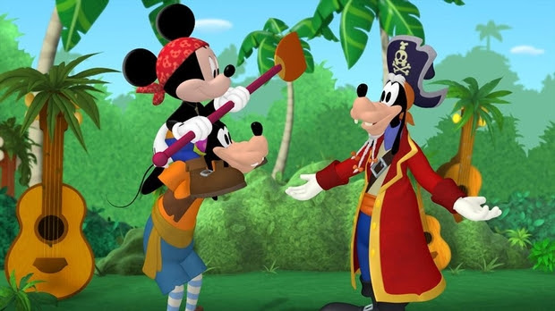 Mickey Mouse Clubhouse - Mickey's Pirate Adventure
