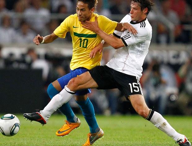 Christian Traesch neymar alemanha x brasil (Foto: Reuters)