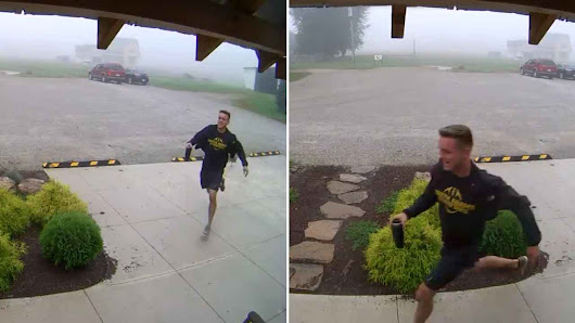 Hilarious Video Of Guy Being Chased By A Chicken He Freed Goes Viral