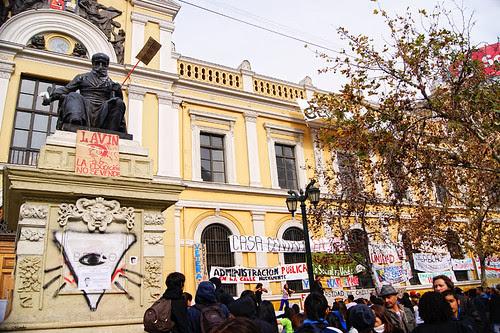 Paro Educación pública , Santiago de Chile. by Manuel Venegas