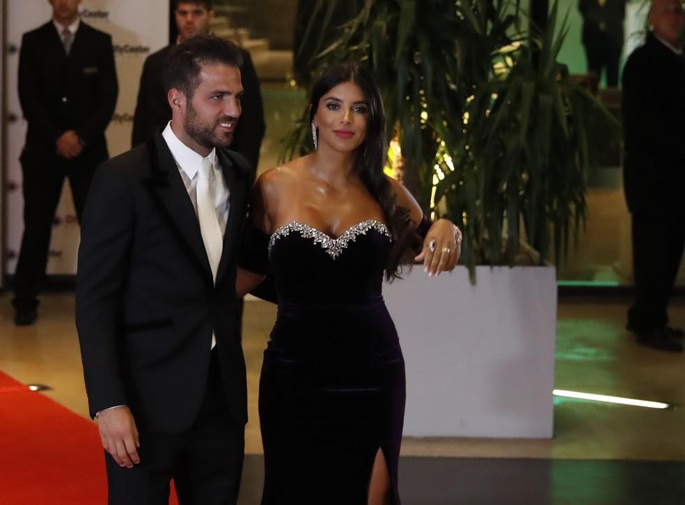 Fàbregas no casamento de Messi (Foto: EFE)