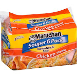 Maruchan Ramen Noodle Soup Chicken - 6pk