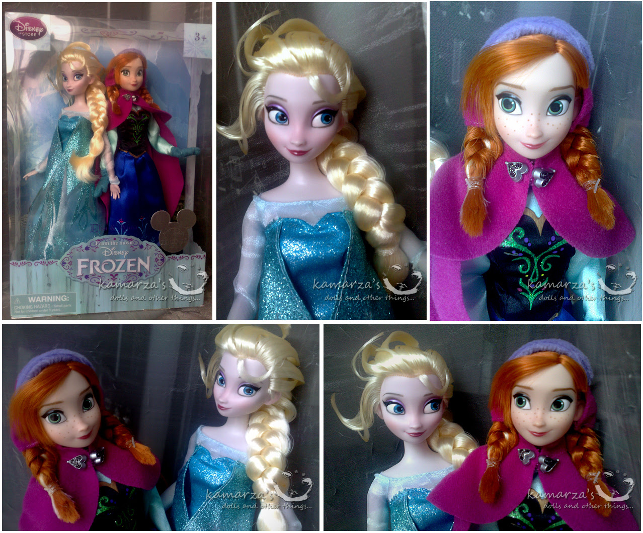 Elsa And Anna Anak Patung Frozen Foto Fanpop