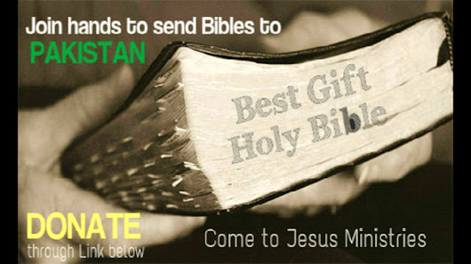 Khuram Bashir's story update on Help us to send gift of Bible