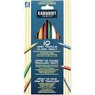 Sargent Art Jumbo Triangular Colored Pencils 10-Pkg-