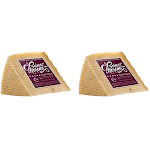 Truffle Spanish Cheese Wedge, 8.8 oz (PACK of 2)   By Supermarket Italy