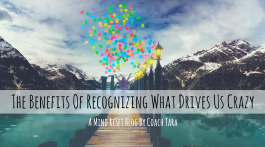 The Benefits Of Recognizing What Drives Us Crazy • Coach Tara's Blog