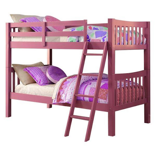 Google Express Donco Trading Company 9070ttp Pink Twin Mission Bunkbed