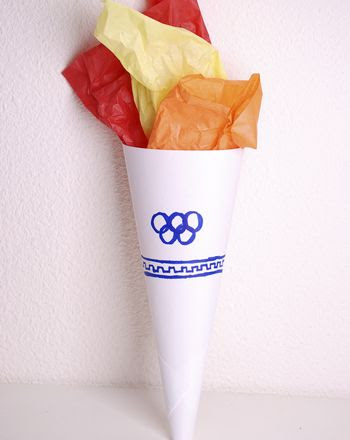 Activities: Make an Olympic Torch