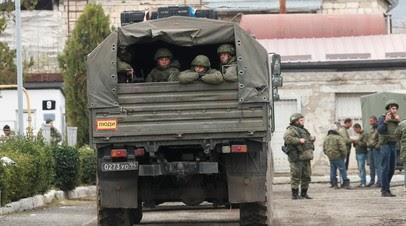 Минобороны рассказало о помощи российских миротворцев паломникам в Карабахе