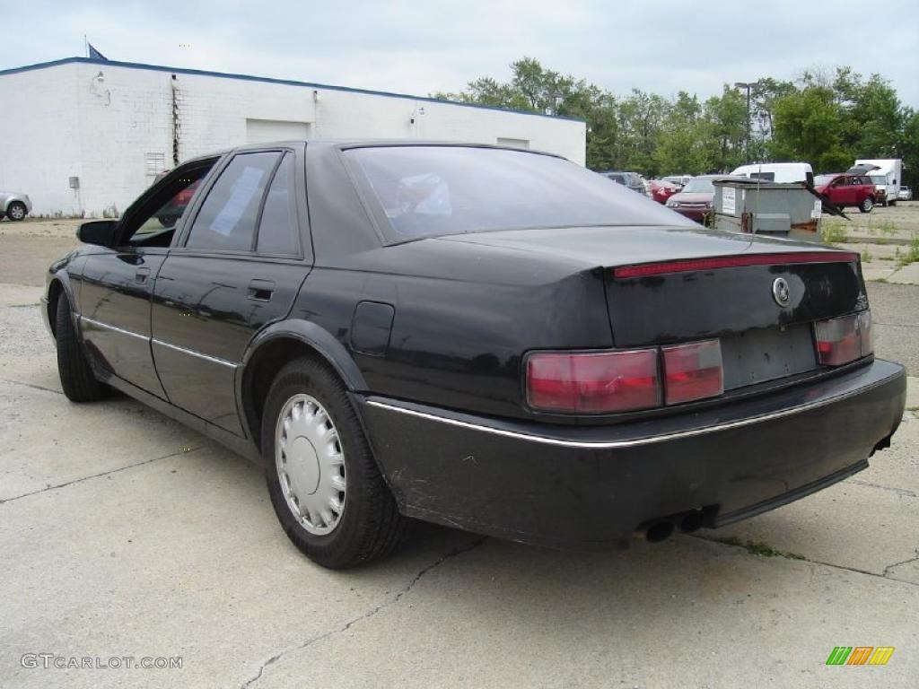 1992 Black Cadillac Seville STS Sedan #31584937 Photo #3 ...