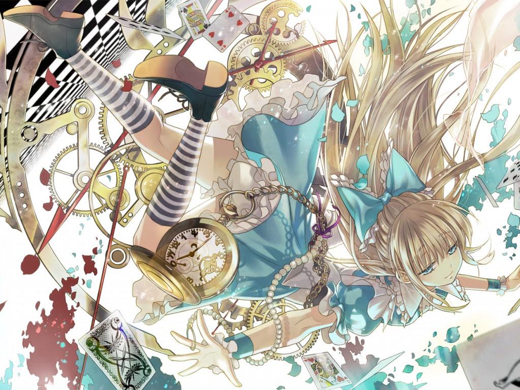 Alice Wonderland Girl Hd Wallpaper All Wallpapers Desktop