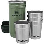 Stanley Shot Glass Set - Hammertone Green
