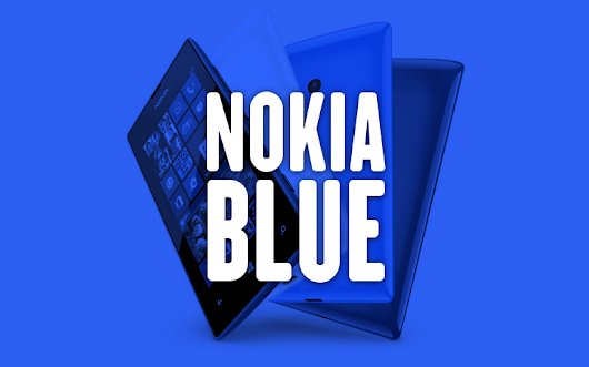 "Nokia's version of Windows Phone 8.1 will be called ""Blue"""