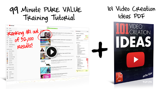 FREE PDF Download + 63 MinVideo Marketing Tutorial - INSTANT ACCESS
