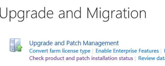 Find Farm Patch Level / latest Cumulative Update that has been installed in a SharePoint Farm