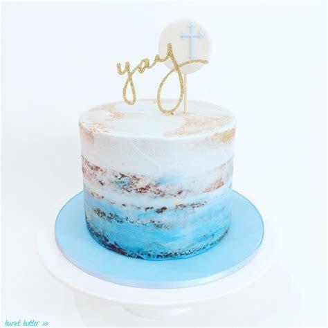 Yay Christening Cake ? Burnt Butter Cakes