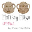 Monkey Maze Giveaway by Pure Play Kids - The Artful Parent
