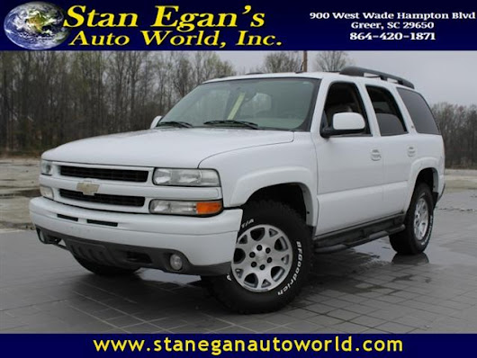 Used 2005 Chevrolet Tahoe for Sale in Greer SC 29650 Stan Egan's Auto World