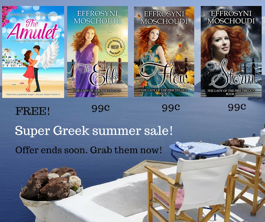 Greek summer ebook sale!