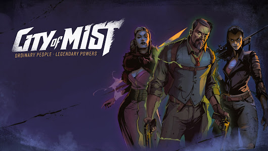 City of Mist, a noir RPG of modern-day legends