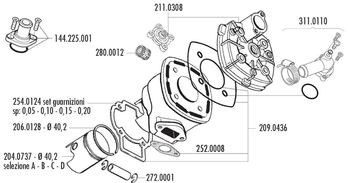 Polini 50cc Engine Diagram 2005