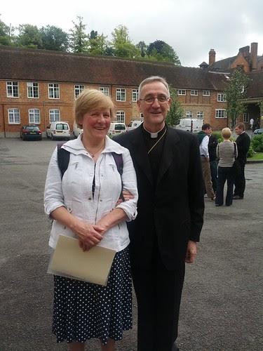 Joanna & Archbishop Menini