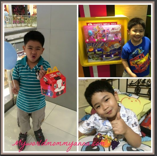 Happy Meal Play Time Made Better with McDonald's Happy Studio App - My World Mommy Anna