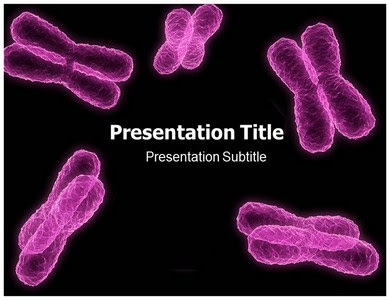 Medical Powerpoint Template Chromosome Powerpoint Template Templatesforpowerpoint Com