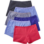 Fruit Of The Loom Cotton Shortie Panties - 6 Pack, Assorted (6DSHTA1)