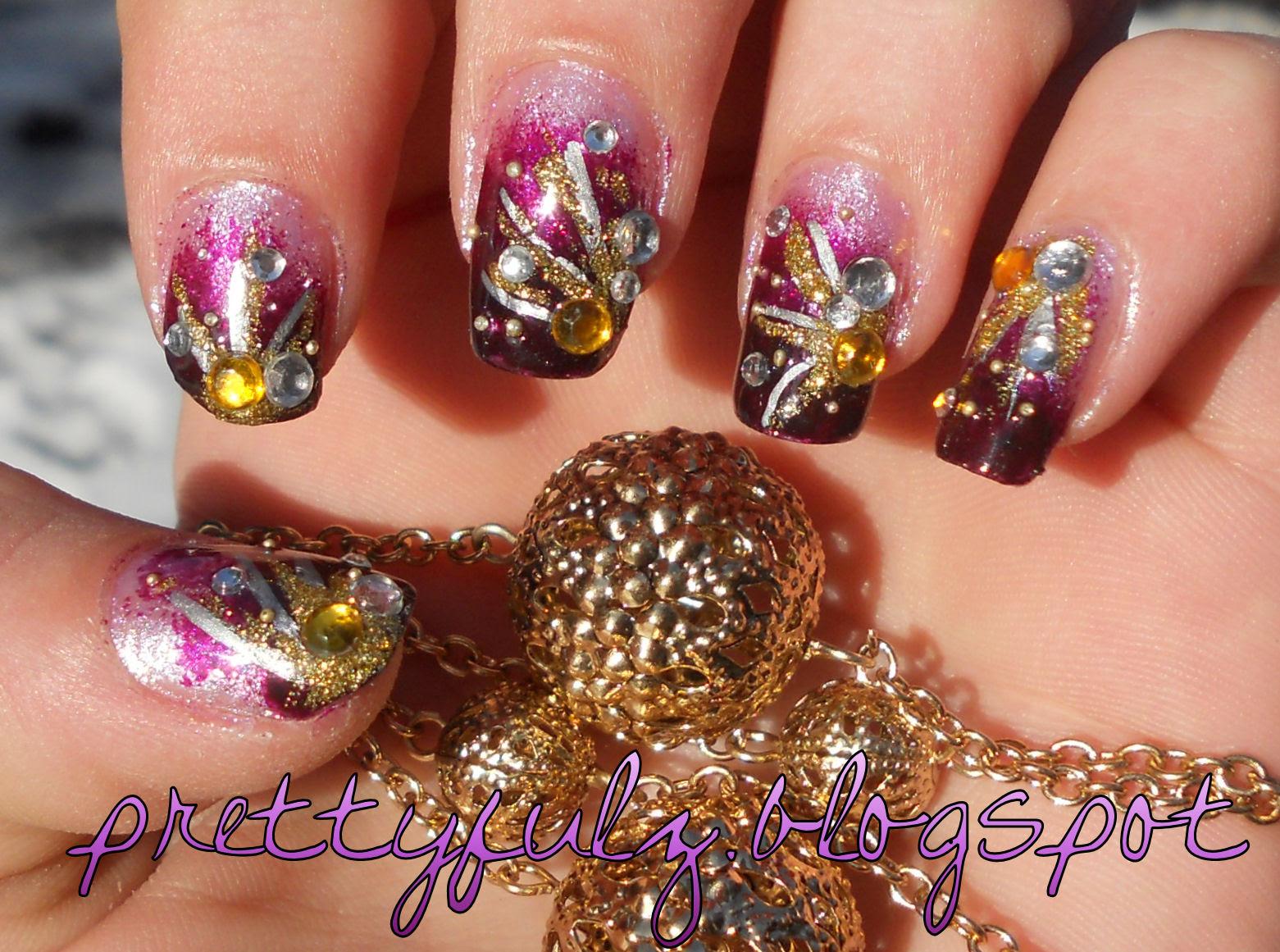 Purple Nail Design Ideas Ucapan Pernikahan
